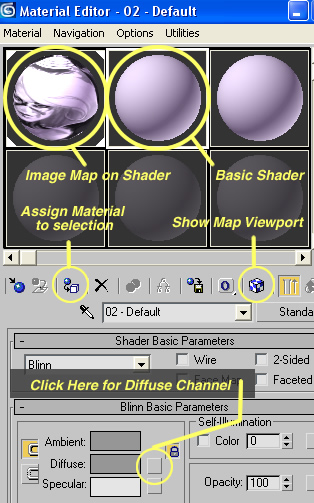 How do I trace an image in 3ds Max? How do I create an Image