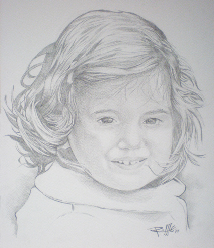 Pencil Drawing Illustration 1