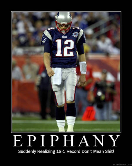 Tom Brady De-Motivational Poster - Epiphany