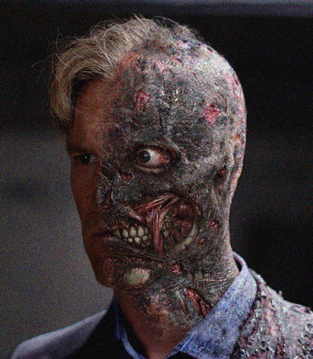 Two Face Aaron Eckhart Concept Image