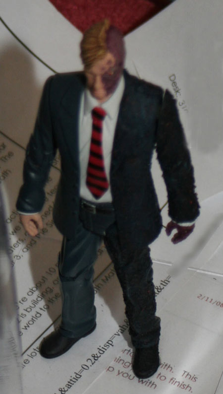 Two Face Figure from New York Toy Fair