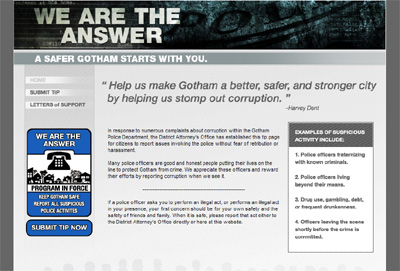 We Are The Answer Website Homepage