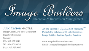 Image Builders Institute Business Card