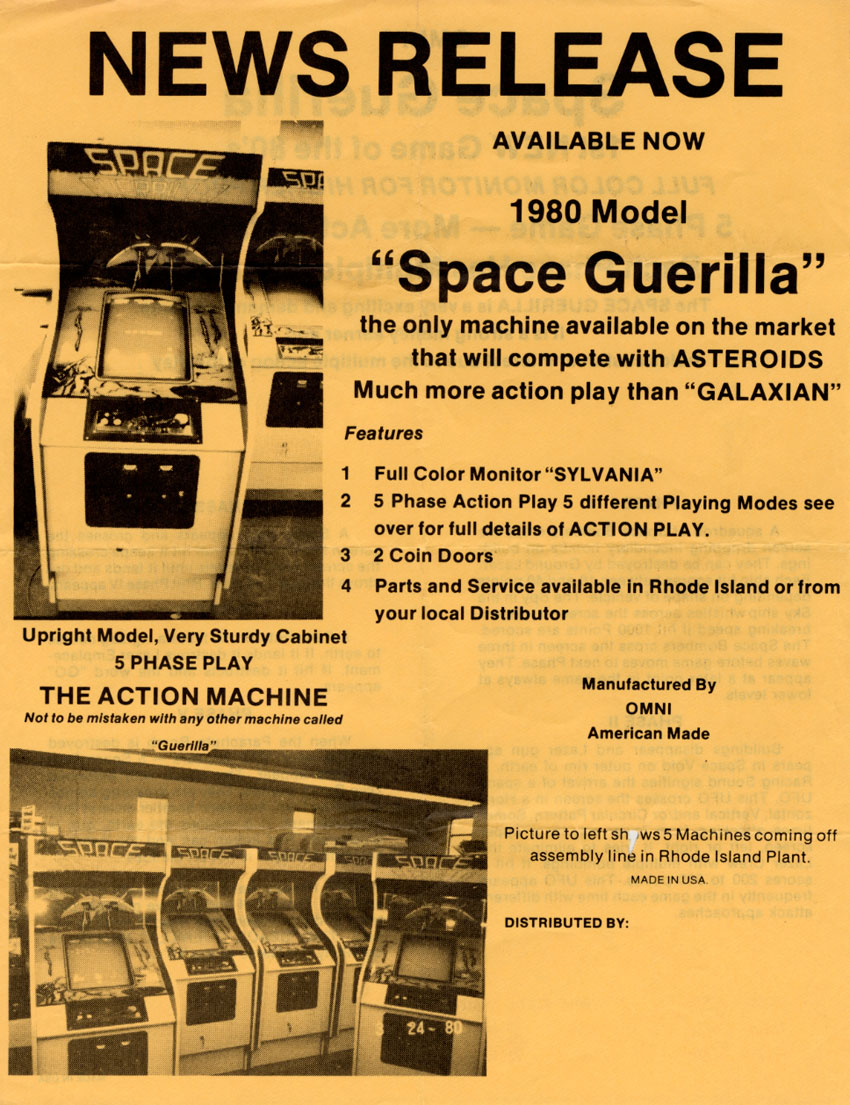 "Space ""Guerilla"" by Omni, Inc."