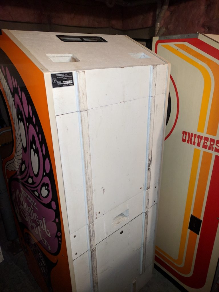 Universal Magical Spot - Back of cabinet