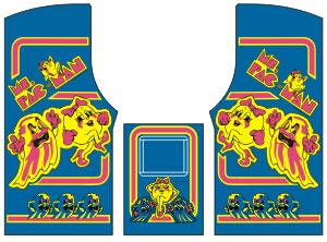 Breaking News: Joymonkey\'s Ms  Pac-man Vector Stencil files