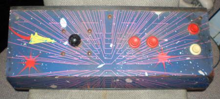 Time Pilot '84 Control Panel Artwork Scanned | Rotheblog - Arcade