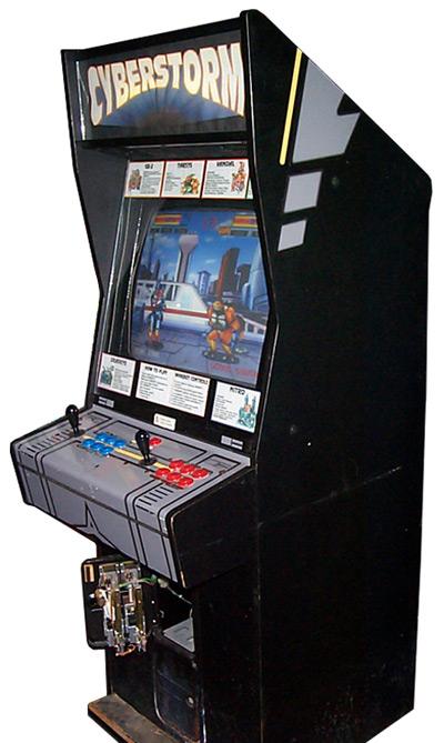 Atari Cyberstorm Arcade Game