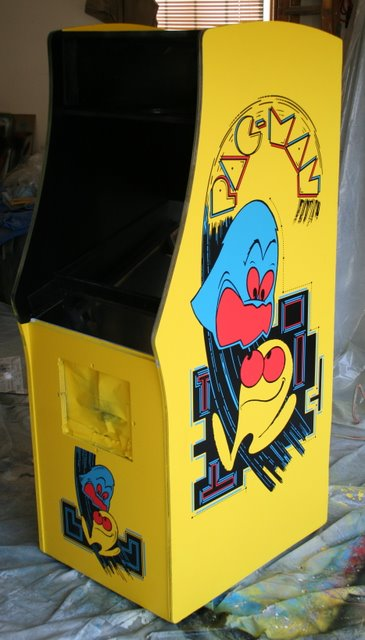 Stencil Pac Man Arcade Game Photo Tutorial Rotheblog