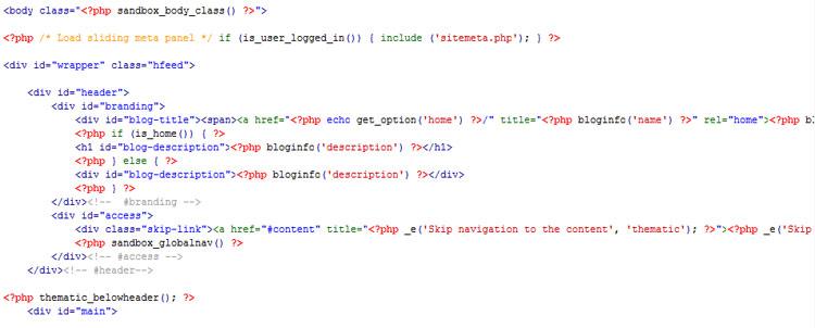 Thesis custom header code